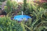 Springbrunnen und Bachläufe aufstellen