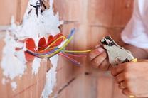 Kabel verlegen, Elektroinstallation