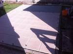 Saubere Verlegung der Terrassenplatten