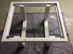 Palettenmöbel Tisch Rahmen