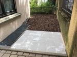 Terrassenplatten verlegen