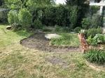 Gartenarbeiten Rasen abstechen