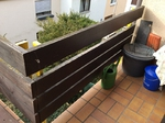 Balkonbretter aus Holz